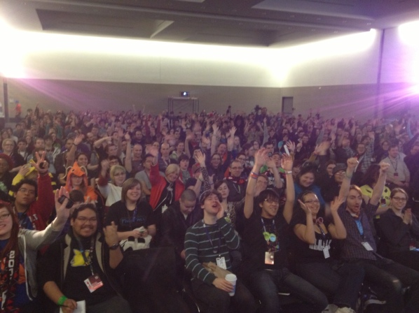 "The audience at ""You Game Like A Girl"""