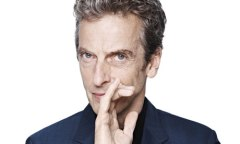 Meet the new Doctor, Peter Capaldi - instant media sensation.