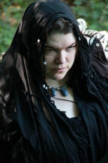 This is me now, in my LARP costume for Freya at Dystopia Rising 2013.