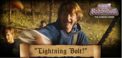 They made a serious Lightning Bolt reference. Seriously, guys? Really?
