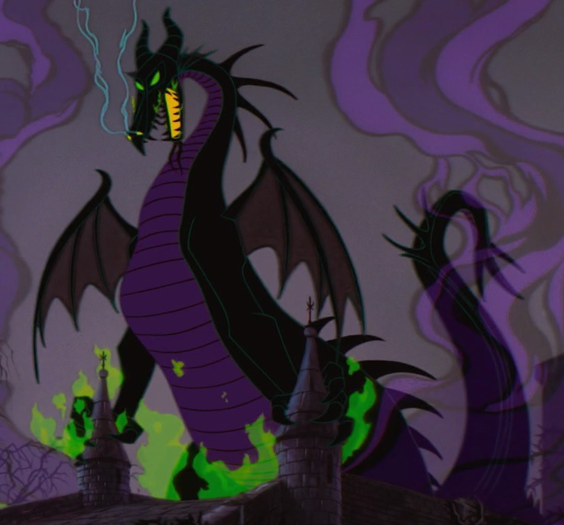 Dragon Villains: The New Maleficent, Or How I Want My Dragon Back