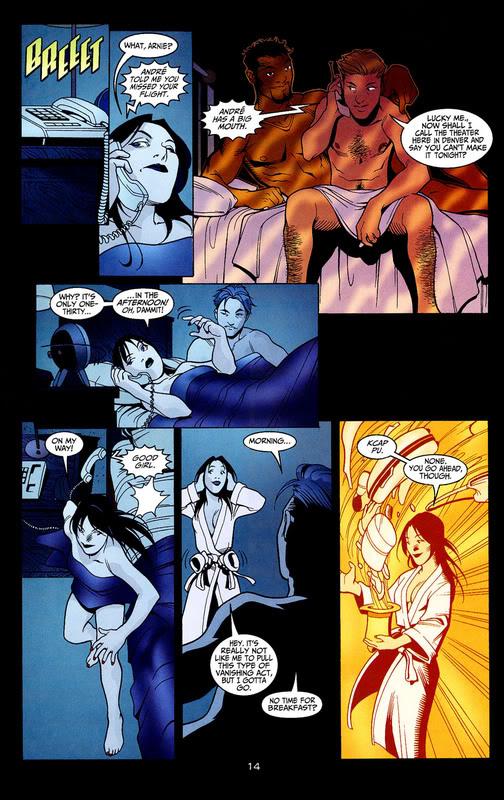Constantine bisexual comic