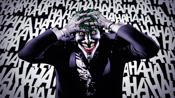 The Joker Wallpaper from The Killing Joke