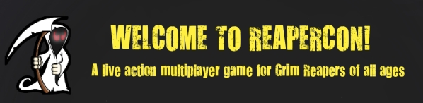 Welcome to ReaperCon banner